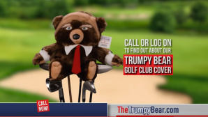 Trumpy Bear: Donald Trump als Teddy © screenshot, youtube: OfficialAsSeenOnTV1