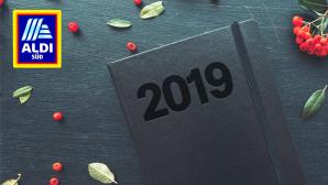 Aldi-Taschenkalender 2019©Aldi Süd, istock/stevanovicigor