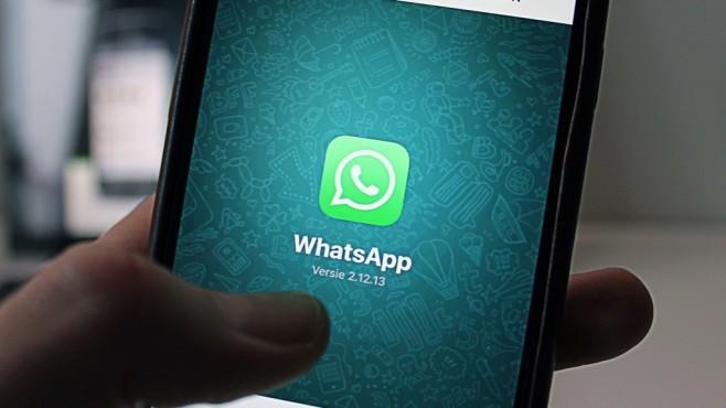 WhatsApp auf dem Smartphone©WhatsApp