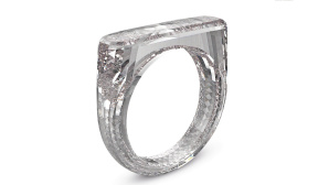 Diamantring von Apple-Designer Jony Ive © Sotheby's Diamonds
