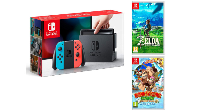 Switch: Die besten Bundles © Amazon, Nintendo