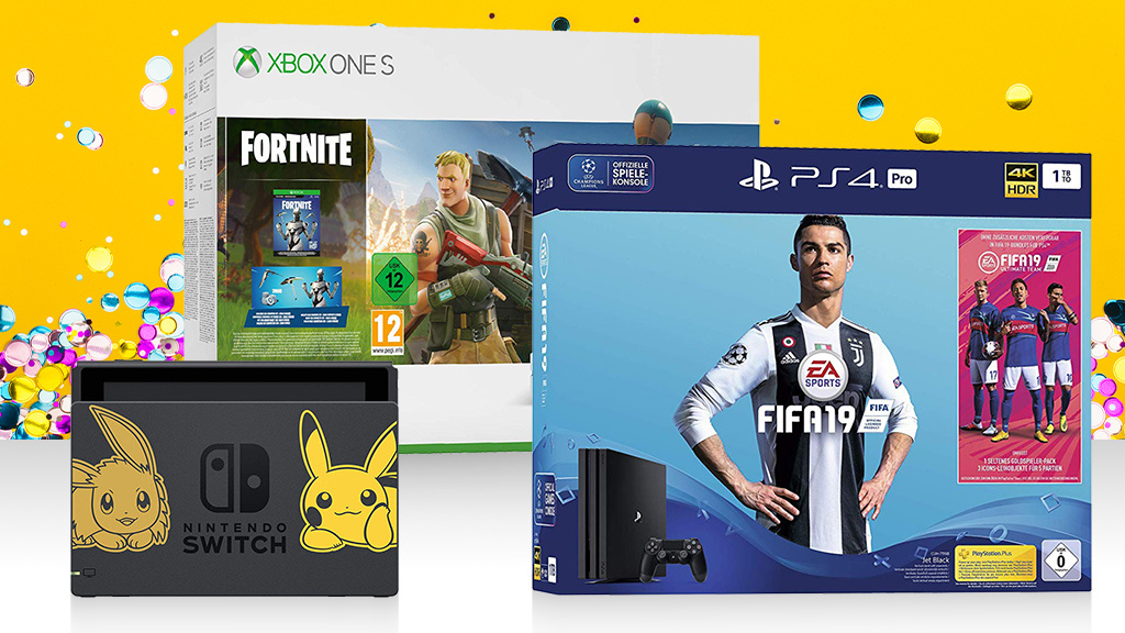 geld sparen die besten bundles f r ps4 xbox one switch 3ds computer bild spiele. Black Bedroom Furniture Sets. Home Design Ideas