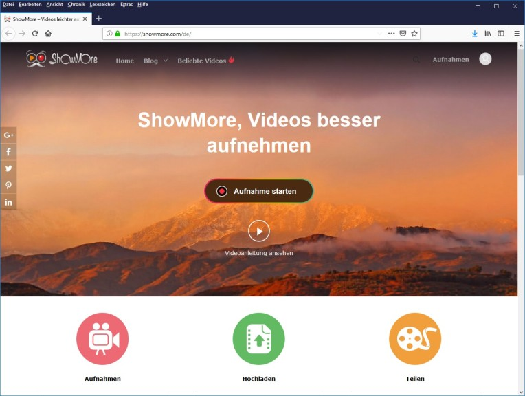 Screenshot 1 - ShowMore