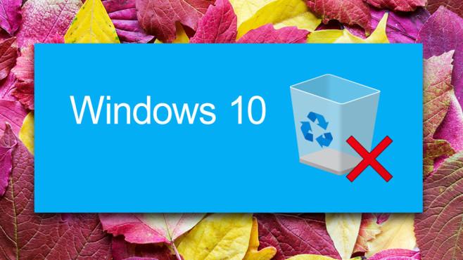 Windows 10 1809: Update für den Papierkorb – Leeren geht nun anders Eine kleine Sensation: Zumindest einer der Wege, um den Papierkorb zu leeren, ändert sich.©istock/Tetiana Soares