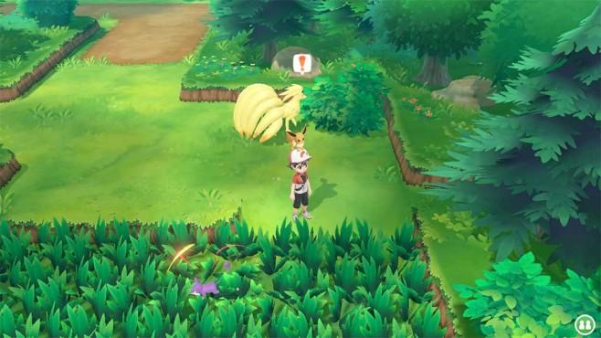 Pokémon – Let's Go: Flauschiger Itemradar©COMPUTER BILD SPIELE