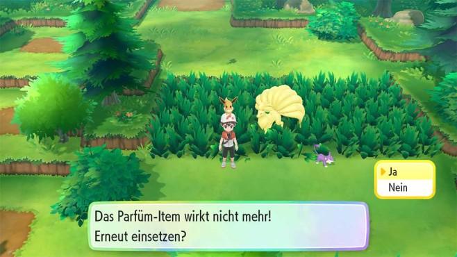 Pokémon – Let's Go: Lockparfüm©COMPUTER BILD SPIELE