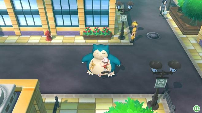 Pokémon – Let's Go: Reiten und fliegen©COMPUTER BILD SPIELE