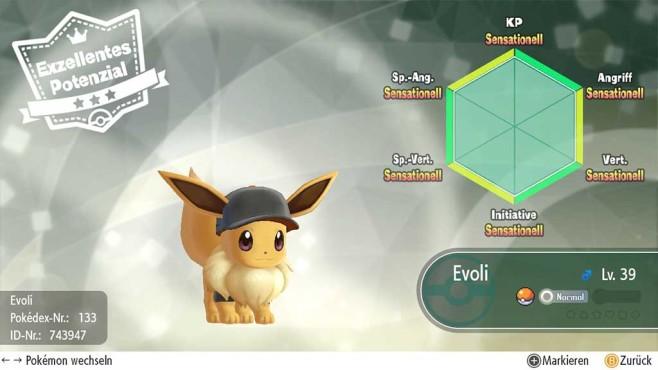 Pokémon – Let's Go: Richter-Funktion©COMPUTER BILD SPIELE