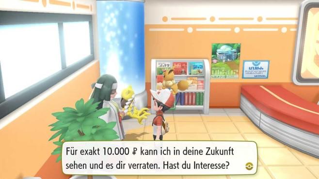 Pokémon – Let's Go: Wesen bestimmen©COMPUTER BILD SPIELE