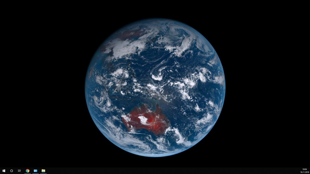 Screenshot 1 - Live Earth Desktop