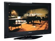 """Der Bildschirm des """"Panasonic TH-42PZ700E"""" spiegelt etwas."""
