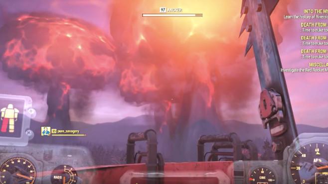 Fallout 76: Drei Atombomben©Bethesda / Youtube