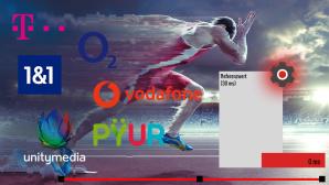 ©istock.com/peepo, Telekom, Vodafone, Unitymedia, 1&1, O2, PYUR, Montage: COMPUTER BILD