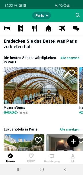 TripAdvisor (Android-App)