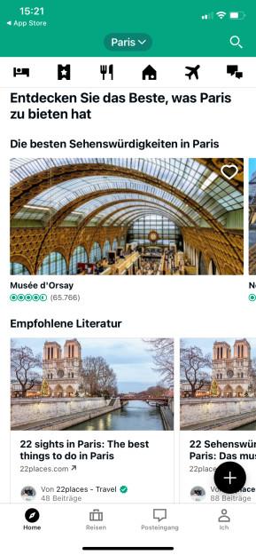 TripAdvisor (App für iPhone & iPad)