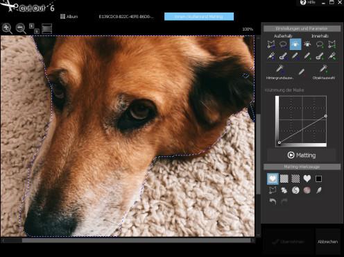 Screenshot 1 - CutOut 5 – Kostenlose Vollversion (Mac)
