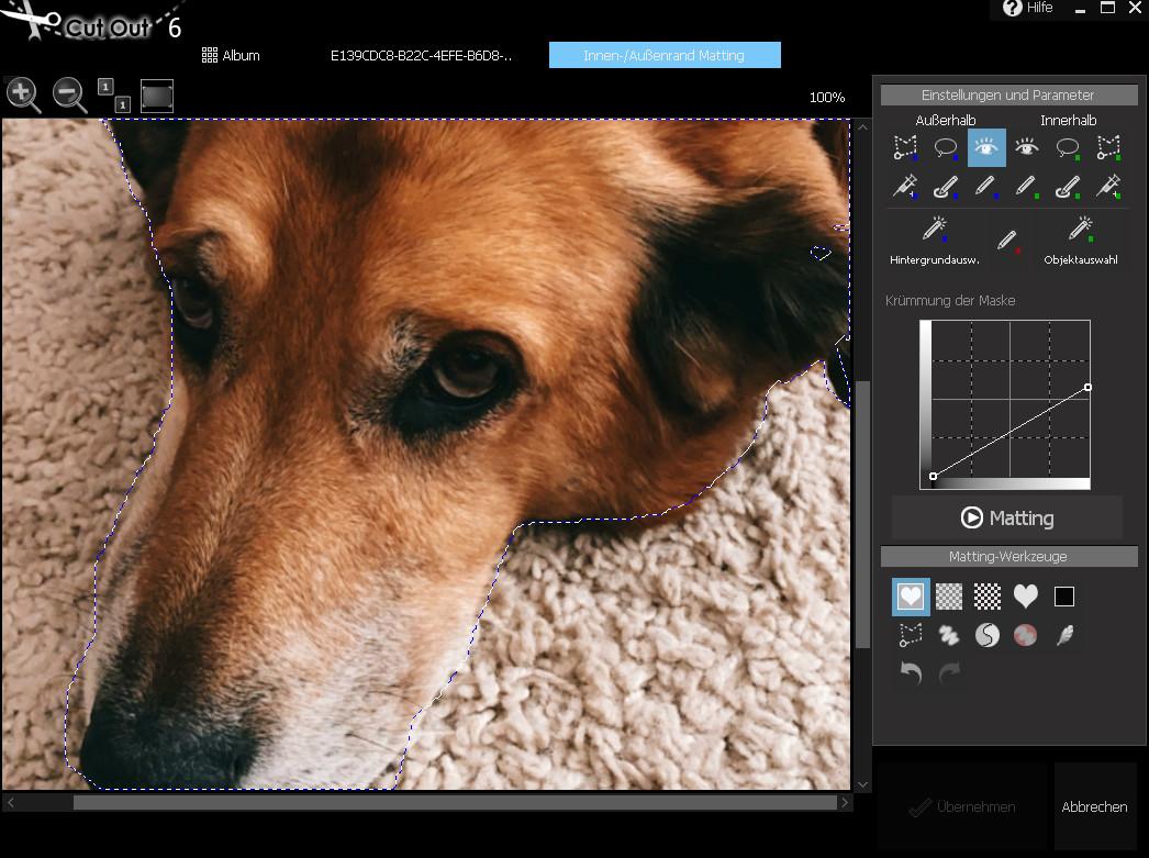 Screenshot 1 - CutOut 6 – Kostenlose Vollversion (Mac)