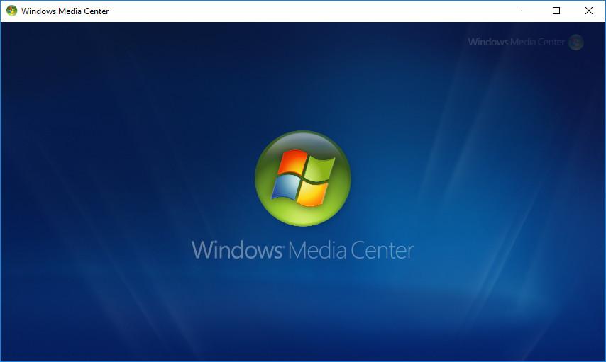 Screenshot 1 - Windows Media Center für Windows 10