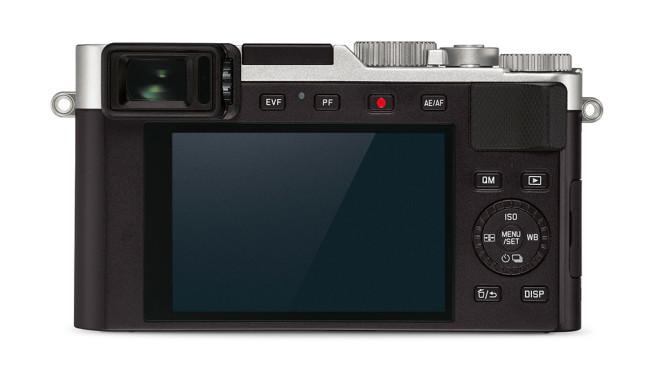 Leica D-Lux 7: Edel-Kompaktkamera mit großem Sensor Schade: Das Display der Leica D-Lux 7 lässt sich leider nicht ausklappen. Gut: Der Sucher fällt schön groß aus (Suchervergrößerung 0,70-fach).©Leica