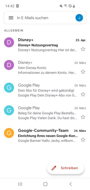 Gmail (Android-App)