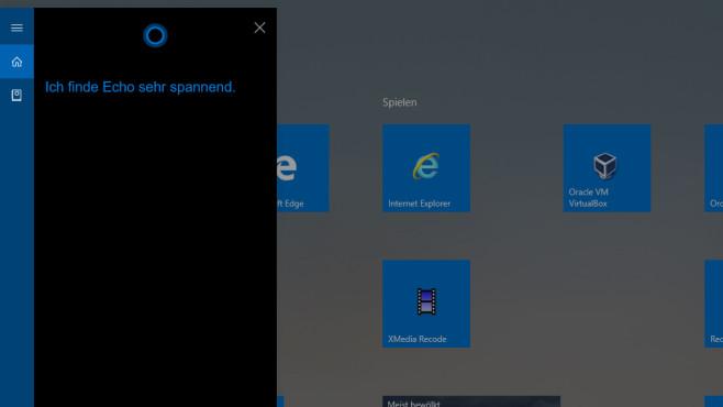 Windows 10: Was hält Cortana von Alexa – und umgekehrt?©COMPUTER BILD