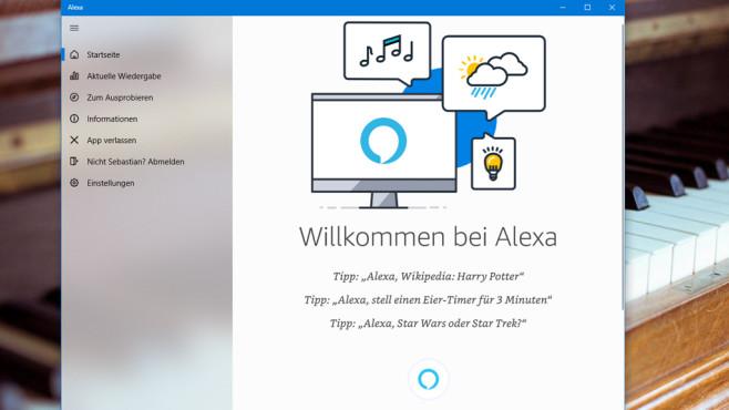Windows 10: Was hält Cortana von Alexa – und umgekehrt? Mögen sich Cortana und Alexa? COMPUTER BILD interviewte beide unter Windows 10 1809 (Oktober 2018 Update). Die Plattform spielt kaum eine Rolle, ihre Intelligenz beziehen beide aus der Cloud.©COMPUTER BILD