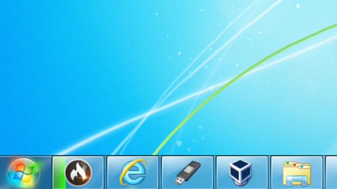 Windows 7: Startbutton leuchtet dauerhaft – warum? Kleiner Knopf, großes Fragezeichen: Leuchtet der Startbutton von Geisterhand?©COMPUTER BILD