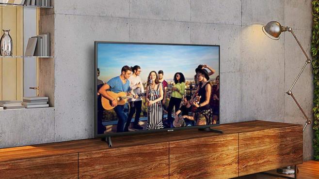 Samsung Nu7099 43 Zoll Uhd Fernseher Im Angebot