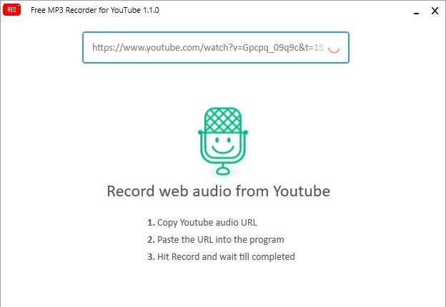 Screenshot 1 - Free MP3 Recorder for YouTube