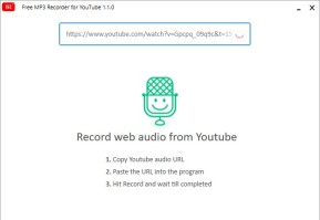 Free MP3 Recorder for YouTube
