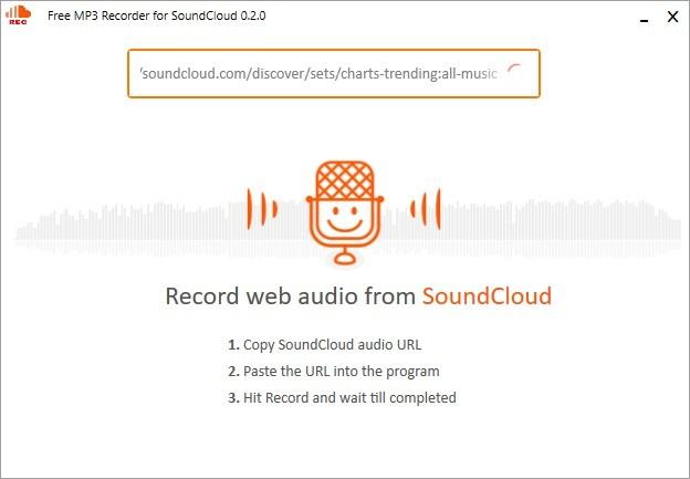 Screenshot 1 - Free MP3 Recorder for SoundCloud