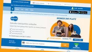 Zusätzlicher Verkaufs-Bonus bei momox kassieren©Screenshot www.momox.de