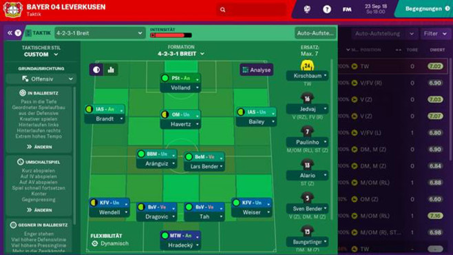 Football Manager 2019 Touch © Sega