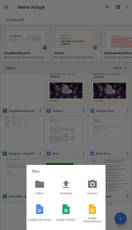 Screenshot 1 - Google Drive (App für iPhone & iPad)