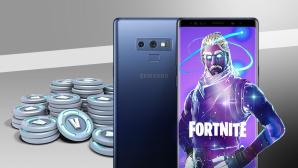Galaxy Note 9 und V-Bucks©Epic Games, Samsung, Microsoft, COMPUTER BILD
