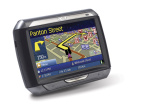 """Acer zeigt neue elektronische Wegweiser Ein gr��erer Bildschirm und mehr Speicher unterscheiden den Acer-Routenplaner """"p660"""" vom Schwestermodell """"e360""""."""