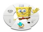 Spongebob Schwammkopf: Die quirligen ComBOTS-Figuren erscheinen auf der Oberfl�che des PC-Betriebsprogramms.©Cebit