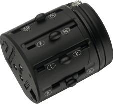Über Schieberegler wird beim International Modem Adapter der passende Stecker für die Telefondose ausgefahren.
