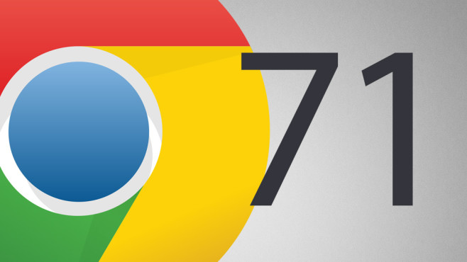 Google Chrome 71©Google