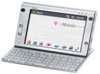 """Ameo - Mobile Kommunikationszentrale von T-Mobile Der """"Ameo"""" von T-Mobile kann wahlweise �ber den ber�hrungsempfindlichen Bildschirm oder mit einer Tastatur bedient werden."""