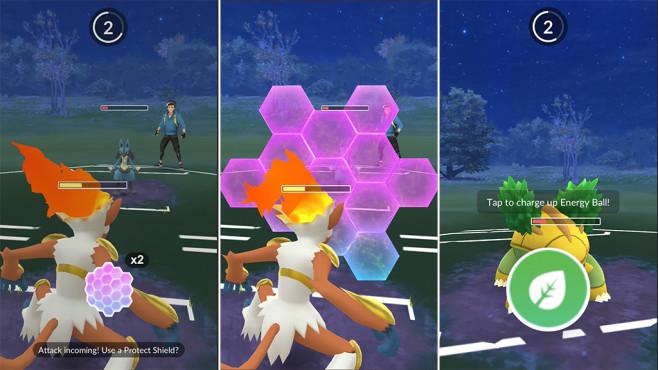 Pokémon GO: Battle-Modus©Niantic
