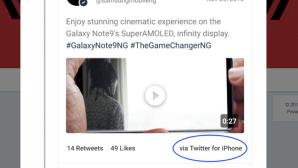 Samsung-Tweet©Twitter.com