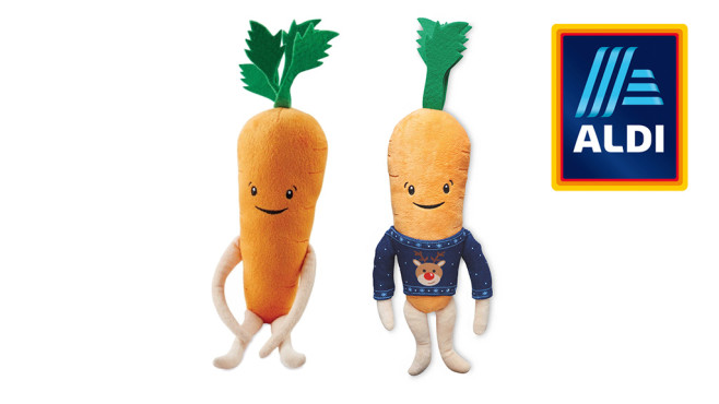 Kevin the Carrot © Aldi UK