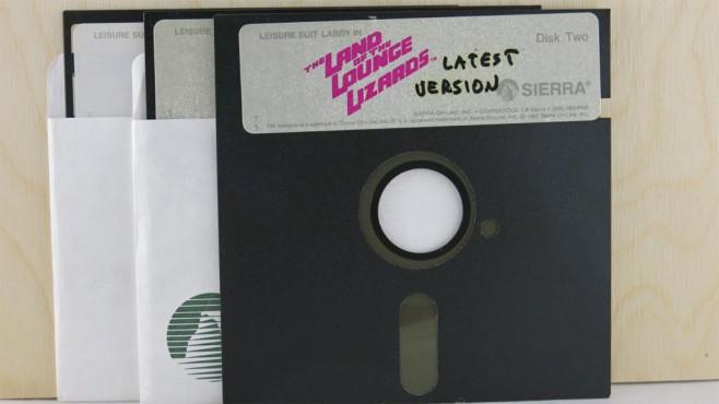 Al Lowe: Disketten©Al Lowe / ebay.com