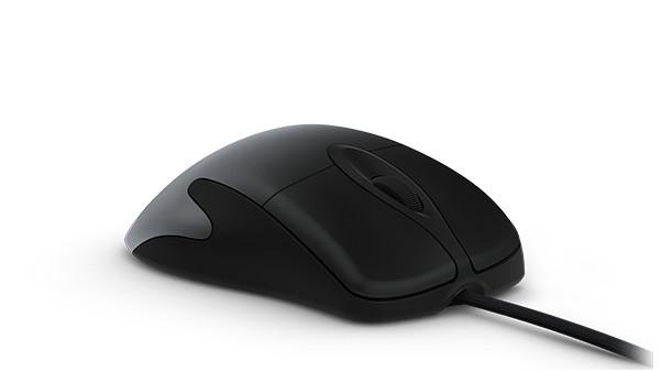 Sie ist wieder da! Microsoft legt IntelliMouse Pro neu auf So sieht das Vorgängermodell der Microsoft-Maus aus. Die IntelliPro ähnelt ihr vermutlich sehr.©Microsoft