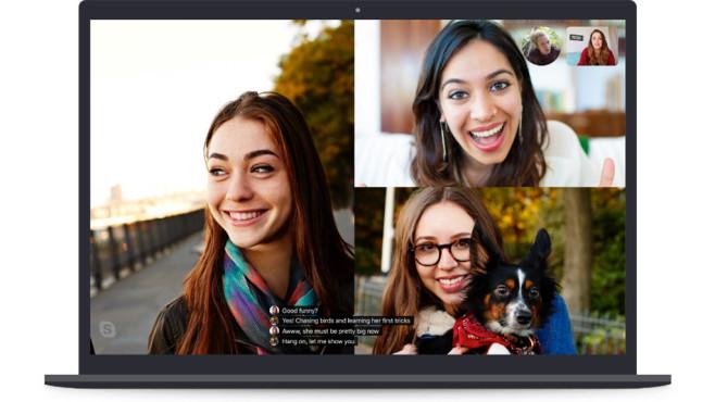 Skype: Live-Untertitel und Übersetzungen©Microsoft