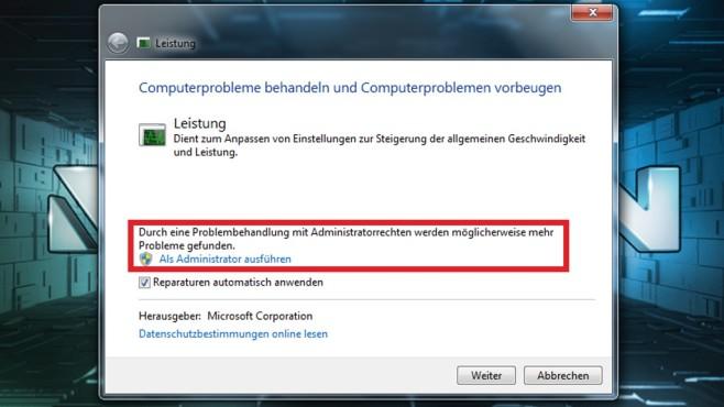 Windows 7: Leistungsprobleme beheben via Autostart-Tuning©COMPUTER BILD