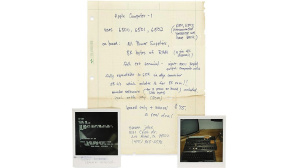 Steve Jobs: Werbebrief-Auktion © https://www.bonhams.com