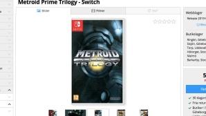 Metroid Prime Trilogy©Nintendo / inet.se