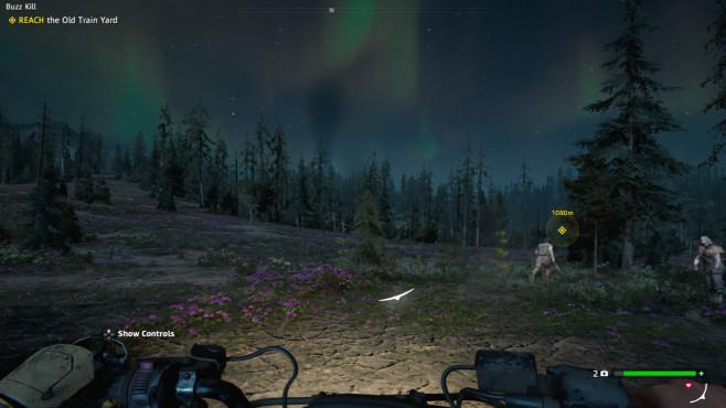Far Cry – New Dawn angespielt: Endzeit-Shooter in der Vorschau Polarlichter in Hope County? Eine nukleare Katastrophe macht's möglich!©Ubisoft